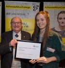 Award of Alton Lions Scholarship for Excellence in Sport to Danielle Gregory
