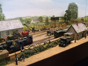 Nettlecombe Station, from the OO9 Nettlecombe