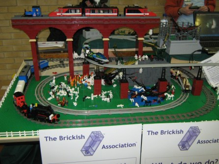 The made of Lego The Brickish Association layout