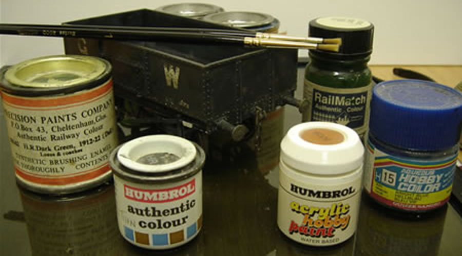 A Guide to Painting Your Model | Alton Model Railway Group