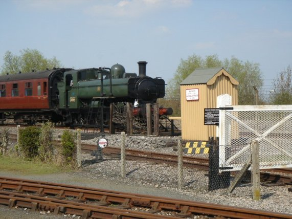 Pannier Tank and coach