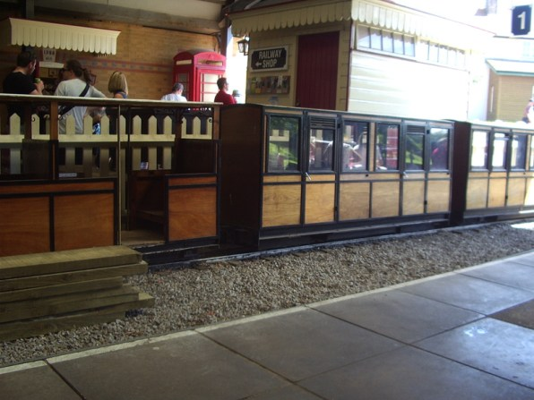 Moors Valleys enclosed coaches