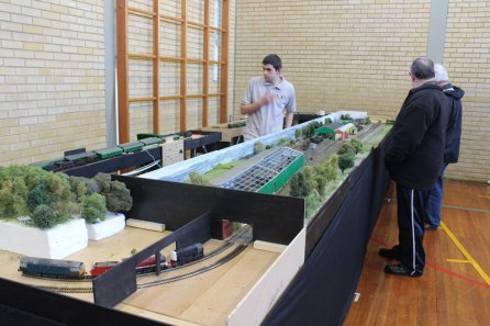 The OO Gauge layout of Ropley station
