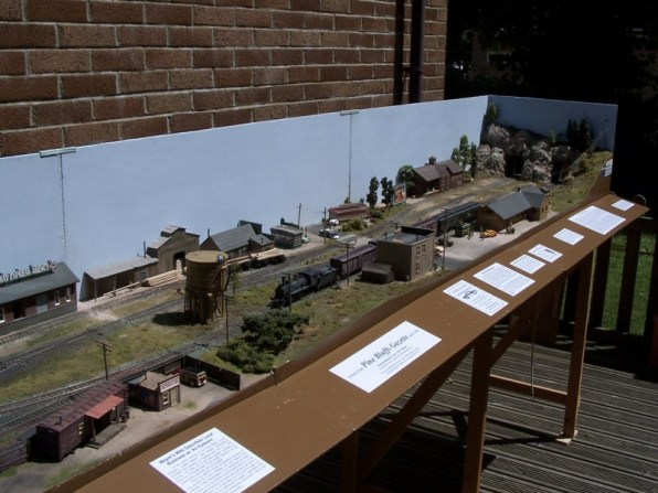 An overview of the Pine Bluffs layout