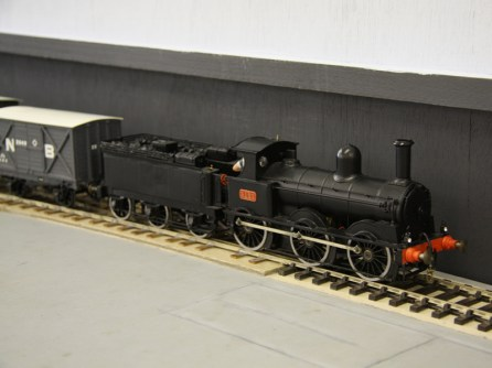A tender loco and wagons