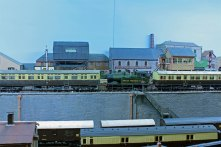 An Auto-Coach train on 'Cornwallis Yard'