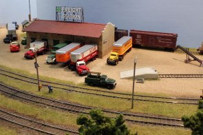 The Pine Bluffs Freight Station