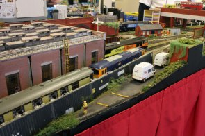 The Diesel shed on 'The Brick'