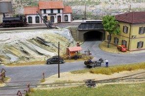 A roadside scene