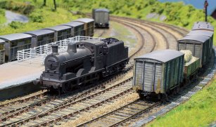 The 3mm scale, 1950s Irish Broad Gauge Ballyconnell Road
