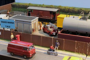 A busy workplace on Figges Marsh TMD