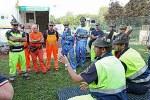 Alpini, protezione civile, volontari
