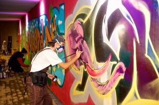 murales sottopasso Tassignano
