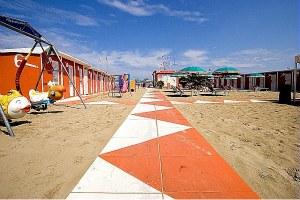 Stabilimento balneare, spiaggia, riviera