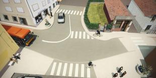 Con la ciclabile della via Francigena pedoni e ciclisti si muoveranno in sicurezza e il centro sarà riqualificato