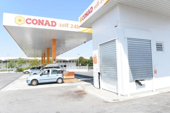 Il distributore Conad di Altopascio...