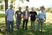 Gli organizzatori: Hannes Unterhofer, Andreas Perugini, Alex Castellano, Angelo Costanzo e Silverio Barbieri (Apri l'immagine , 682 Kilobyte, 1936 per 1296 pixel)