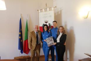 Ricevuti in Comune Margherita Petrocchi e Luca Bandettini  neo campioni italiani di danze standard