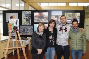 L'inaugurazione della mostra dedicata a Nicola Galli