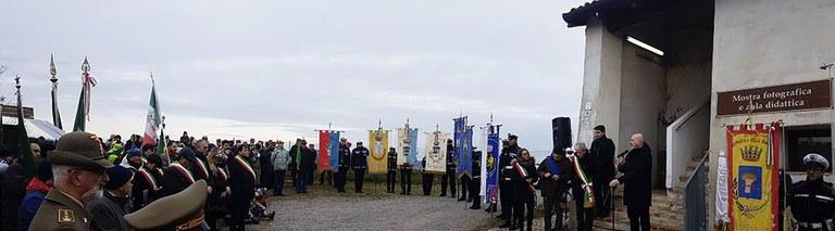 Commemorazione Sabbiuno, panoramica