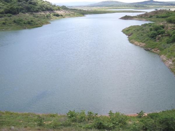 Foto Açude Boqueirão (Portal Alto Sertão.com.br)