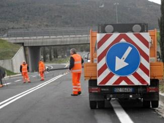 E45, dal 27 maggio cantieri, chiuso svincolo stradale Umbertide Gubbio