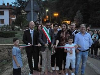 Inaugurata a Lisciano Niccone la messa in sicurezza della ss 416