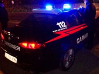 Ubriaco aggredisce i carabinieri a Città di Castello, arrestato