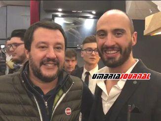 Alto Tevere a San Giustino e Selci Matteo Salvini torna in Umbria