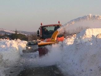 Neve Umbertide, situazione sotto controllo e strade percorribili