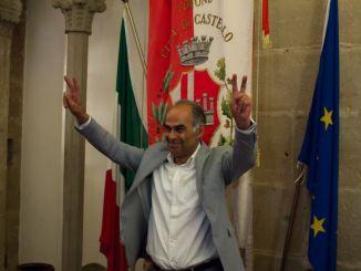Il sindaco di Città di Castello, Luciano Bacchetta, compie 60 anni