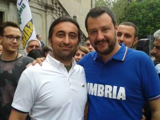 Corrado Belloni della Lega Umbria minacciato da ladro a casa sua