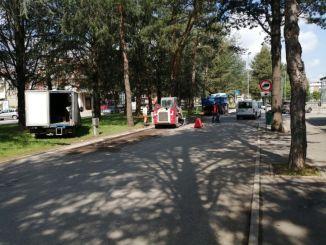Iniziati i lavori per la messa in sicurezza dell'area di piazza Marx