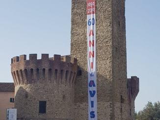 Avis, passeggiata del Donatore nel centro storico di Umbertide