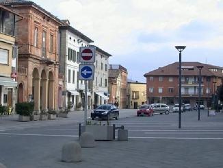 Estate a San Giustino, piazza del Municipio torna isola pedonale