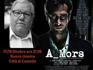 """Il tifernate Paolo Granci al nuovo Cinema Castello il 17 e 18 ottobre 2019, interprete del film """"A_Mors"""""""