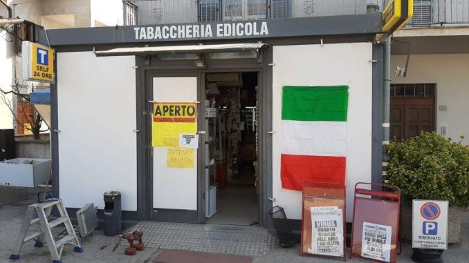 Furto alla tabaccheria Europa di Selci Lama, lo sgomento dei titolari