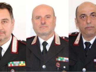 Nuovi comandantialle Stazioni di Trestina e Monte Santa Maria Tiberina. Dopo quasi 38 anni di servizio Palmitesta lascia l'incarico