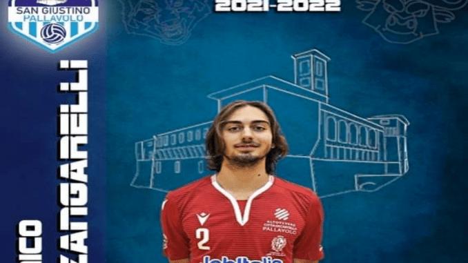 Il giovanissimo Nico Zangarelli torna a far parte del roster sangiustinese, ha già indossato la maglia biancoazzurra tre stagioni fa