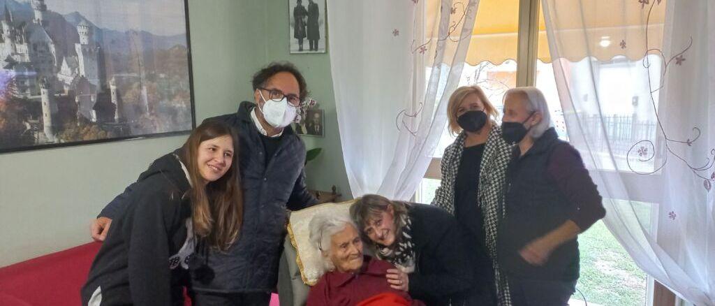 Nel Comune di Umbertide c'è una nuova centenaria, è la signora Noemi Roselli