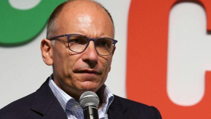 Enrico Letta a Città di Castello per Luca Secondi sindaco