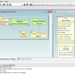 uml database diagrams in altova umodel [ 1198 x 673 Pixel ]