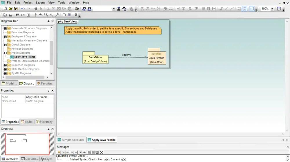 medium resolution of uml profile diagram