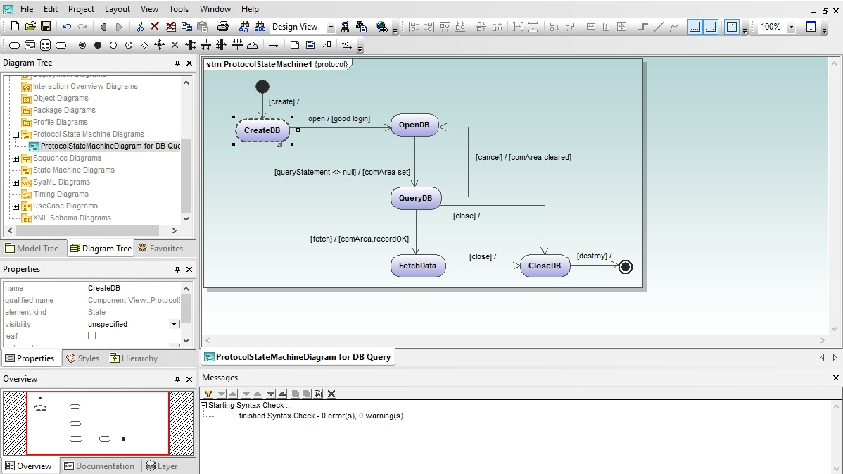 hight resolution of protocol state machine diagram