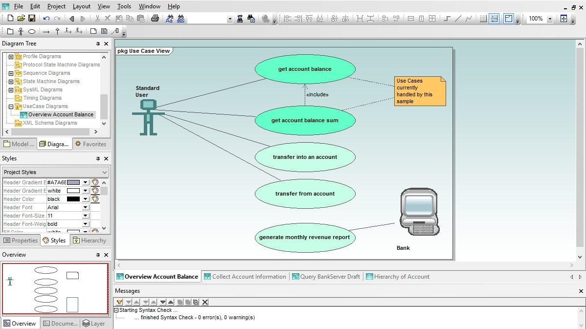hight resolution of use case diagram in altova umodel