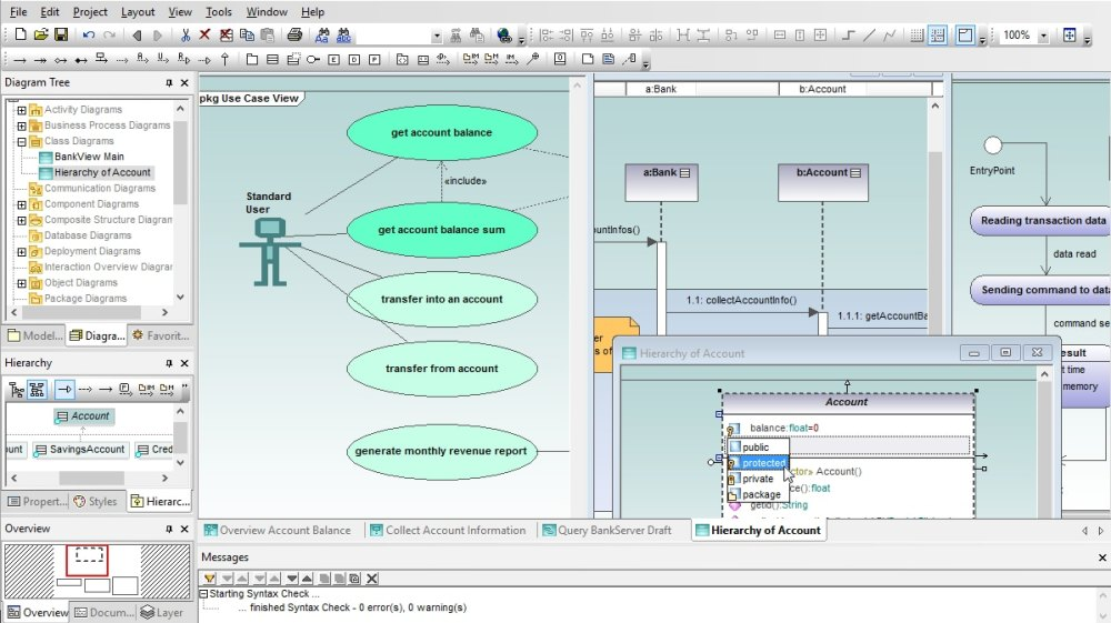 medium resolution of intuitive uml modeling with altova umodel