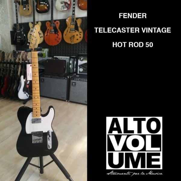 Fender Telecaster vintage hot rod 50