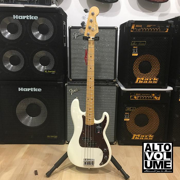 Fender Precision American Professional II Olimpic White