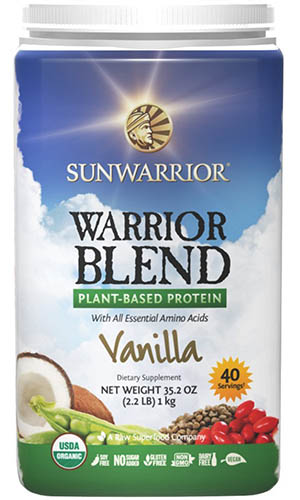 sun warrior protein review - is sun warrior the best vegan