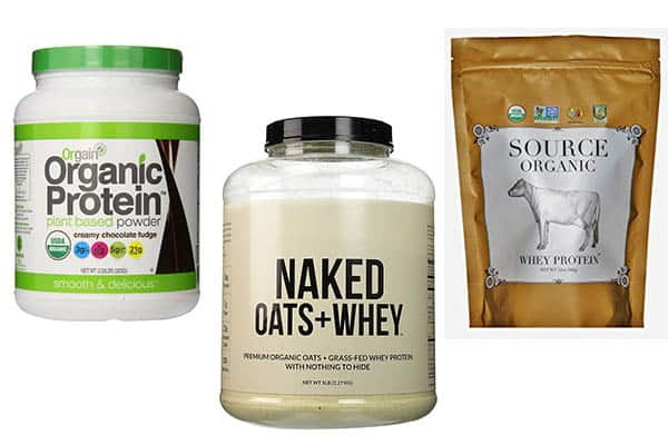 the top 3 best organic protein supplements - pure ingredients